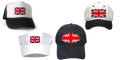 Union Jack Hats & Caps