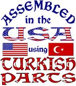 USA / Turkish Parts