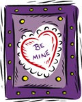 Be Mine Purple Heart T-shirts & Gifts