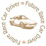 Future Race Car Driver Girl T-shirts Gifts