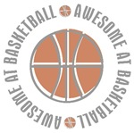 Awesome at Basketball T-shirts Gifts