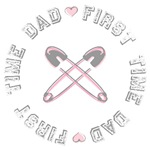 First Time Dad Girl Pink T-shirts Gifts