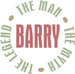 Barry the Man the Myth the Legend T-shirts Gifts