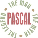 Pascal the Man the Myth the Legend T-shirts Gifts