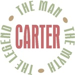 Carter the man the myth the legend T-shirts Gifts