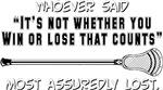 Lacrosse LossCount