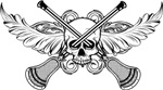 Lacrosse Skull 20XX