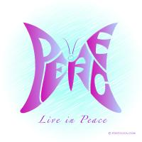 Live in Peace (Butterfly)