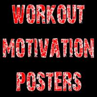 HASfit Fitness Workout Posters, Exercise Gym Shirt