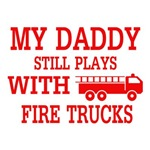 Plays With Fire Trucks