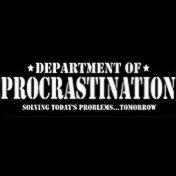 Department of Procrastination