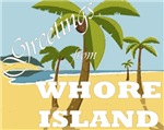 Greetings from Whore Island