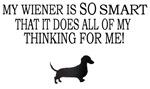 My Wiener Is SO Smart....