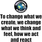 To change What We Create