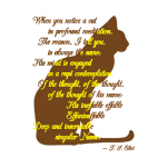 Naming of Cats - Goodies