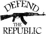 DEFEND THE REPUBLIC (black ink)