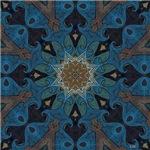 Damascus Art Mandala