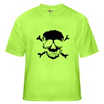 Weathered Jolly Roger for Teens and Adults