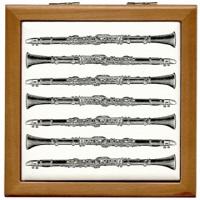 Clarinet Woodcuts