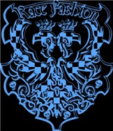 Race Fashion Coat of Arms in Blue