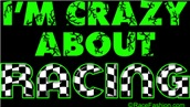 I'm Crazy About Racing (green)