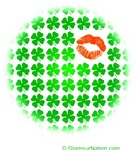 Lucky Clovers and kiss
