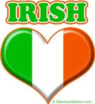 Irish Flag Heart 1