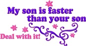 My Son is Faster Than Your Son