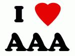I Love AAA