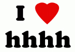 I Love hhhh