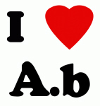 I Love A.b