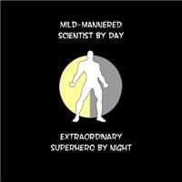 Scientist Superhero