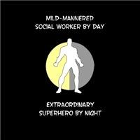 Social Working Superhero