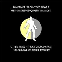 Quality Manager Superhero