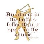 Arrow vs. Spear