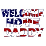 Welcome Home Daddy (Flag)