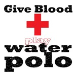 give blood (water polo t-shirt)