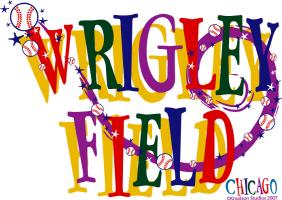Wrigley Field Letters