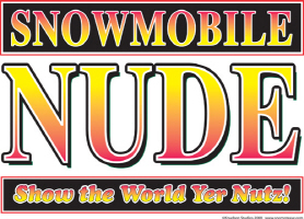 Snowmobile NUDE
