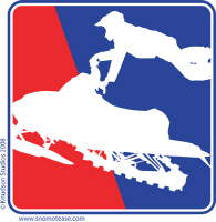 Red White and Blue Extreme Sledder