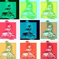 Warhol Artsy Sledder 1