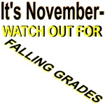 It's November Watch Out for Falling Grades