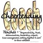 Cheer Coach Spiral Pattern