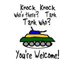 Knock Knock Tank