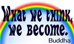 Rainbow Buddha Quote