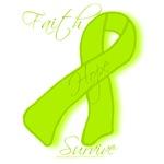 Lime Awareness Ribbon