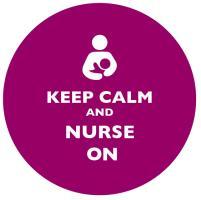 Keep Calm and Nurse On Plum