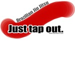 BJJ shirts: Just Tap Out