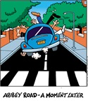 Abbey Road - A Momment Later