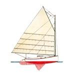 Ketch Rigged Motor Sailor